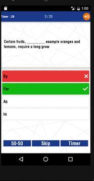 SSC English Grammer Quiz - ssc online practice set apk screenshot