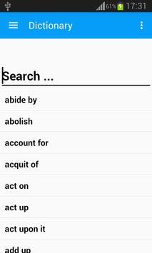 English Phrasal Verbs screenshot 1