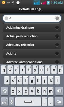PetroleumEngineeringDictionary apk screenshot