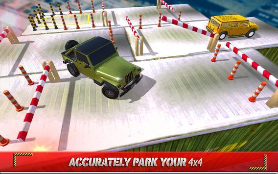 Classic Jeep Parking apk screenshot