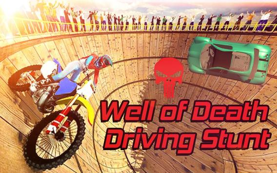 Well of Death Driving Stunts poster