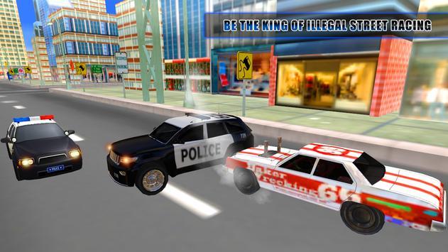 Thief Car VS Police Car screenshot 1