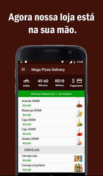 Mega Pizza Delivery poster