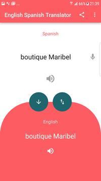 English Spanish Translator screenshot 1