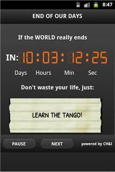 End of The World Advisor poster