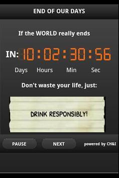 End of The World Advisor apk screenshot