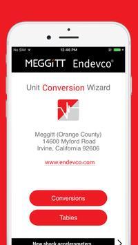 Meggitt Unit Conversion Wizard screenshot 4