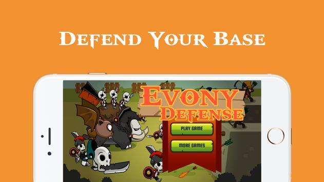 Evony Monster Defense Evony poster