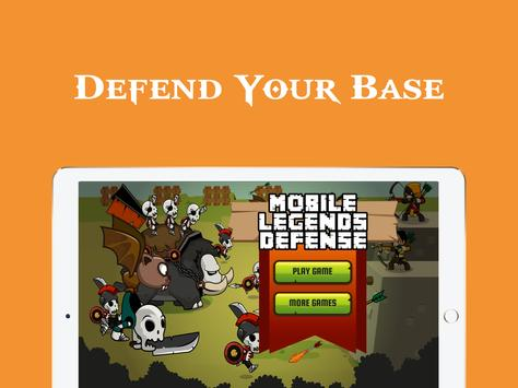 Mobile Legends Defense apk screenshot
