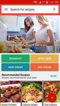 Global Cuisines : Free Recipes poster