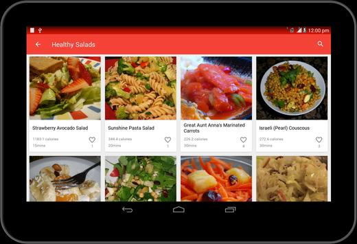 Healthy recipes apk download free food drink app for android healthy recipes apk screenshot forumfinder Images