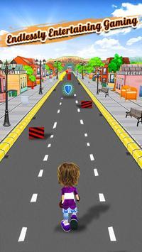 Endless Street Runner : crazy kid running games screenshot 4