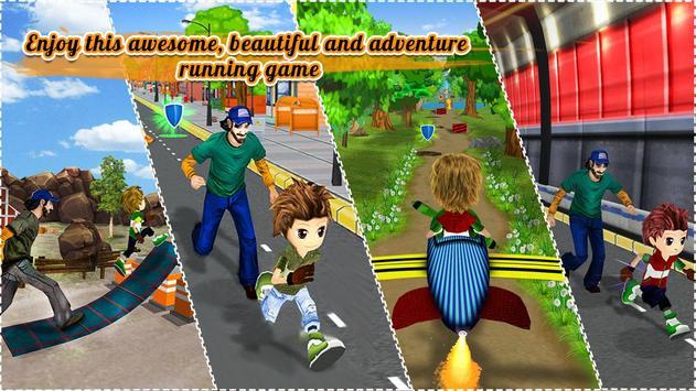 Endless Street Runner : crazy kid running games screenshot 7