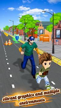 Endless Street Runner : crazy kid running games screenshot 17