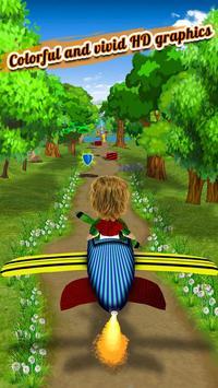 Endless Street Runner : crazy kid running games screenshot 2