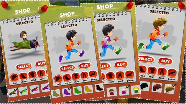 Endless Street Runner : crazy kid running games screenshot 3