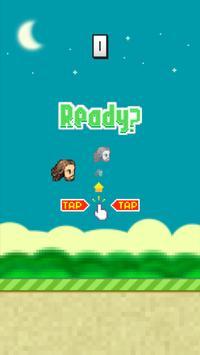 Flappy Head screenshot 1