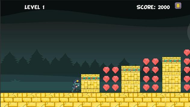 Zombie Runner Free screenshot 2