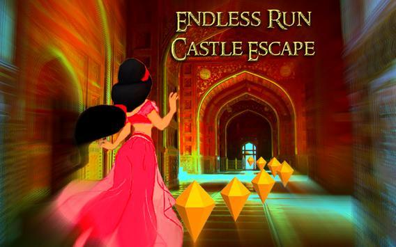 Endless Run Castle Escape screenshot 2