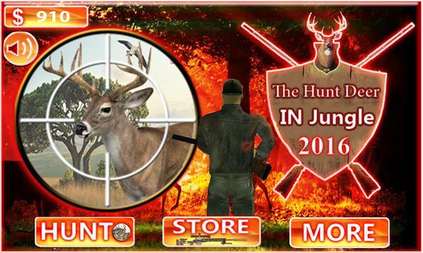 The Hunt Deer In Jungle 2016 poster