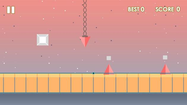 Impossible cube runner screenshot 13