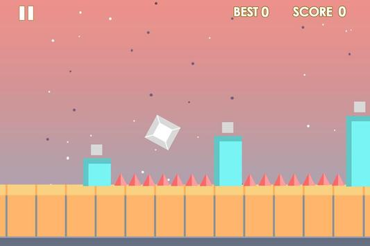 Impossible cube runner screenshot 1