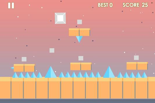 Impossible cube runner screenshot 2