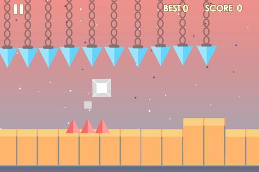 Impossible cube runner screenshot 4