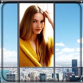 Window Selfie Photo Frames icon