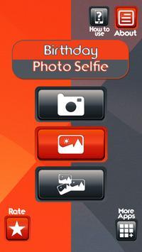 Birthday Photo Selfie poster