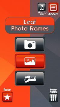 Leaf Photo Frames poster