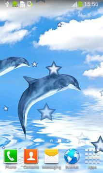 Dolphin Live Wallpapers screenshot 3