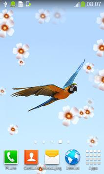 Parrot Live Wallpapers apk screenshot