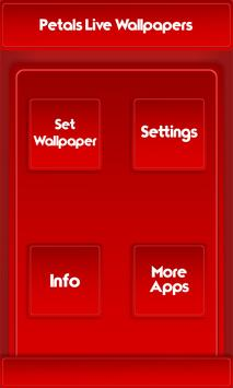 Petals Live Wallpapers apk screenshot