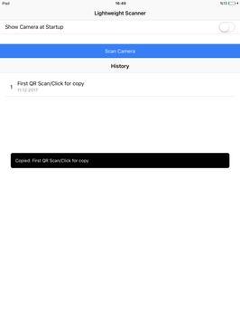 Lightweight QR Scanner screenshot 7