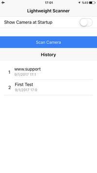 Lightweight QR Scanner screenshot 1