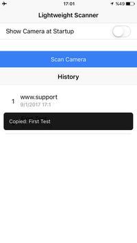 Lightweight QR Scanner screenshot 3