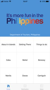Visit Philippines poster