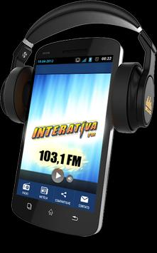 FM INTERATIVA 103,1 poster