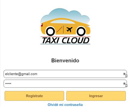 Taxicloud poster