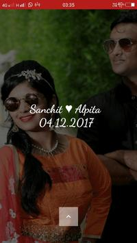 Sanchit Weds Alpita poster