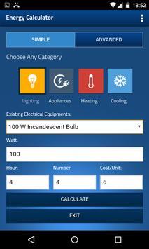 Wattguru Energy Calculator screenshot 1