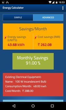 Wattguru Energy Calculator screenshot 3