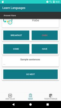 Learning Languages: Create Own Dictionary screenshot 4