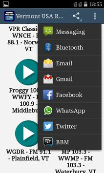 Vermont USA Radio screenshot 1