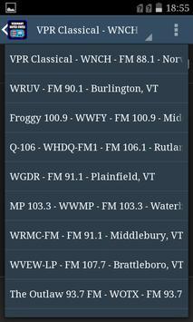 Vermont USA Radio screenshot 2