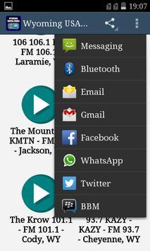 Wyoming USA Radio screenshot 1