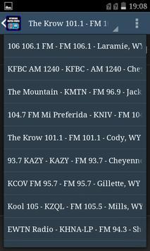 Wyoming USA Radio screenshot 2