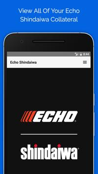 Echo | Shindaiwa poster