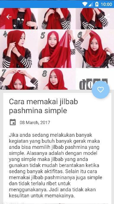 2017 Tutorial Hijab Pashmina For Android Apk Download